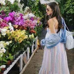 7edcbf51601 Splendid Dresses - Splendid - Arcoiris Tiered Maxi